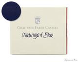 Graf von Faber-Castell Midnight Blue Ink Cartridges (6 Pack)
