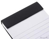 Rhodia No. 8 Staplebound Notepad - 3 x 8.25, Lined - Black perforations
