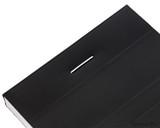 Rhodia No. 8 Staplebound Notepad - 3 x 8.25, Lined - Black staple detail