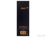 Rhodia No. 8 Staplebound Notepad - 3 x 8.25, Lined - Black back cover