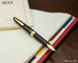 Pilot E95S Fountain Pen - Black - Posted on Notebook