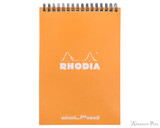 Rhodia No. 16 Wirebound Notepad - A5, Dot Grid - Orange