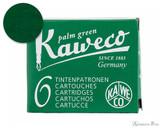 Kaweco Palm Green Ink Cartridges (6 Pack)