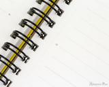Maruman Mnemosyne N199A Notebook A4 - Lined - Binding