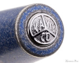 Kaweco AL Sport Fountain Pen - Stonewashed Blue - Cap Jewel