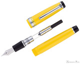 Sailor Pro Gear Color Fountain Pen - Yellow with Rhodium Trim - Parted Out