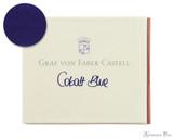 Graf von Faber-Castell Cobalt Blue Ink Cartridges (6 Pack)