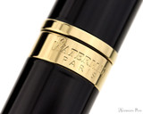 Waterman Hemisphere Rollerball - Black with Gold Trim - Cap Band