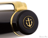 Sailor Pro Gear Ballpoint - Black with Gold Trim - Cap Jewel