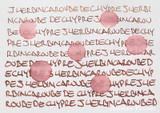 J. Herbin 1670 Anniversary Caroube de Chypre Ink ThINK Thursday water resistance test