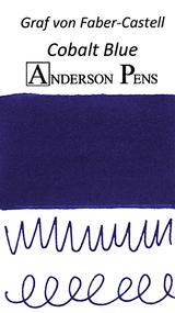 Graf von Faber-Castell Cobalt Blue Ink Sample Color Swab