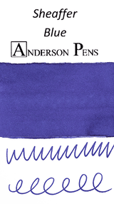 Sheaffer Blue Ink Color Swab
