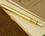 Kaweco Liliput Fountain Pen - Brass - Posted on Notebook