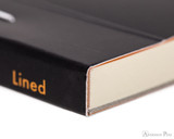 Rhodia No. 16 Premium Notepad - A5, Lined - Black binding detail