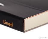 Rhodia No. 16 Premium Notepad - A5, Lined - Black binding detail