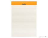 Rhodia No. 16 Premium Notepad - A5, Lined - Black open