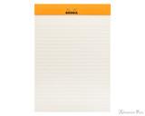 Rhodia No. 16 Premium Notepad - A5, Lined - Black open