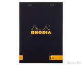 Rhodia No. 16 Premium Notepad - A5, Lined - Black