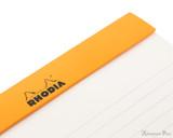 Rhodia No. 16 Premium Notepad - A5, Lined - Black perforations