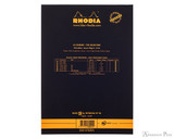 Rhodia No. 16 Premium Notepad - A5, Lined - Black back cover