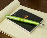 Pilot Metropolitan Ballpoint - Retro Pop Green - On Notepad
