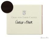 Graf von Faber-Castell Carbon Black Ink Cartridges (6 Pack)