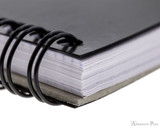 Rhodia No. 16 Wirebound Notepad - A5, Dot Grid - Black binding detail
