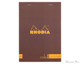 Rhodia No. 16 Premium Notepad - A5, Lined - Chocolate