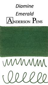 Diamine Emerald Ink Color Swab