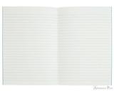 APICA CD11 Notebook - A5, Lined - Light Blue open