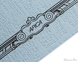 APICA CD11 Notebook - A5, Lined - Light Blue scroll