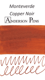 Monteverde Copper Noir Ink Color Swab