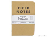 Field Notes Notebooks - Graph (3 Pack)