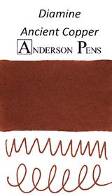 Diamine Ancient Copper Ink Color Swab