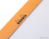 Rhodia No. 16 Staplebound Notepad - A5, Blank - Orange perforations