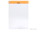 Rhodia No. 16 Staplebound Notepad - A5, Blank - Orange open