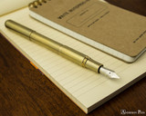 Kaweco Liliput Supra Fountain Pen - Brass - Posted on Notebook