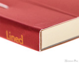 Rhodia No. 16 Premium Notepad - A5, Lined - Red binding detail