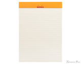 Rhodia No. 16 Premium Notepad - A5, Lined - Red open