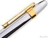 Fisher Slide-On Clip - Gold Plated - On Pen Profile
