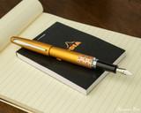 Pilot Metropolitan Fountain Pen - Retro Pop Orange - Posted on Notebook