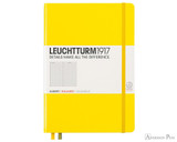 Leuchtturm1917 Notebook - A5, Graph - Lemon