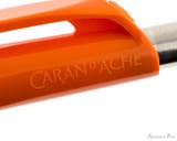 Caran d'Ache 888 Infinite Ballpoint - Orange - Imprint