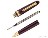 Sailor 1911 Large Ballpoint - Maroon with Gold Trim - Parted Out