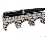 Jac Zagoory Thought Aqueduct Pewter Pen Holder - Holding Pen