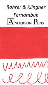 Rohrer & Klingner Fernambuk Ink Color Swab