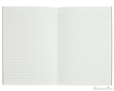 APICA CD11 Notebook - A5, Lined - Black open