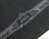 APICA CD11 Notebook - A5, Lined - Black scroll