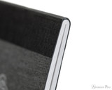 APICA CD11 Notebook - A5, Lined - Black thread binding