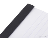 Rhodia No. 12 Staplebound Notepad - 3.375 x 4.75, Lined - Black perforations
